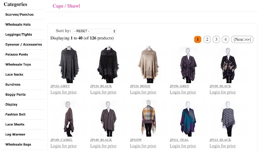 Wholesale Scarves For Women screenshot 10