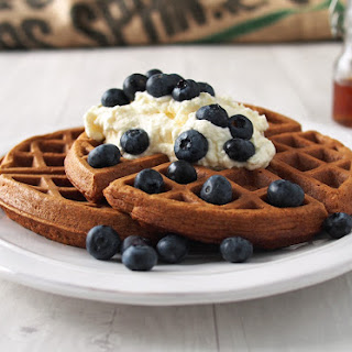 Honey Oat Waffles.