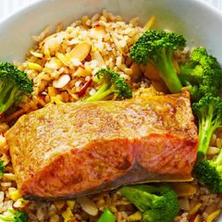 Salmon and Ginger Rice Bowl