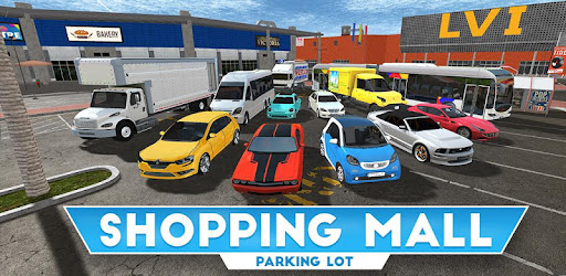 Realistic shopping mall driving! 12 cool cars & 60 tasks