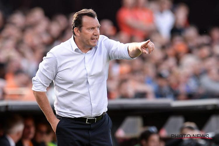 """Marc Wilmots : """"J'ai reçu beaucoup de messages de fans de Schalke 04 ces derniers jours"""""""