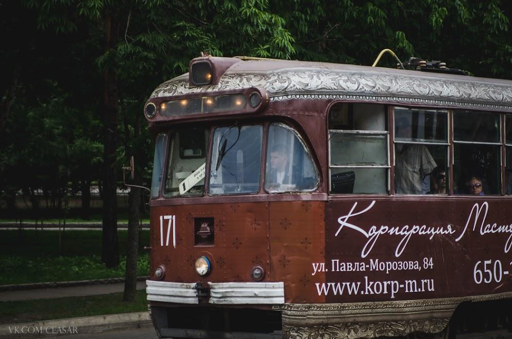 Трамваи в Хабаровске