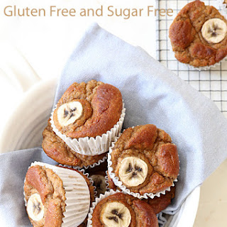 Gluten Free Sugar Free Banana Muffins Recipes.