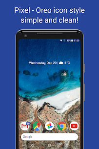 Pireo – Pixel/Oreo Icon Pack v1.8.0 [Patched] APK 1