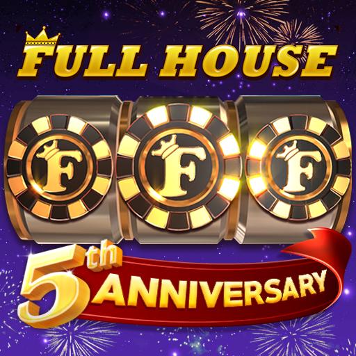 Full House Casino: โป๊กเกอร์สล็อตแจ็คพ็อตวัดดวง