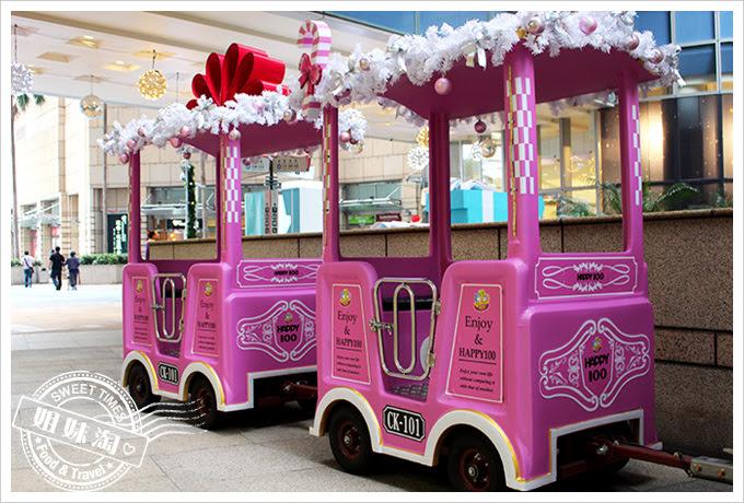 2016夢時代愛Sharing聖誕節小火車3