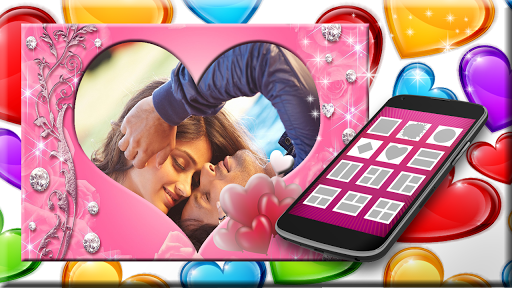 Hearts Photo Frames app (apk) free download for Android/PC/Windows screenshot