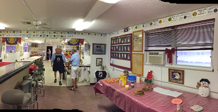 Photo: The American Legion Hall where we had our community breakfast, business meeting, Christmas Party, and installation of new officers....