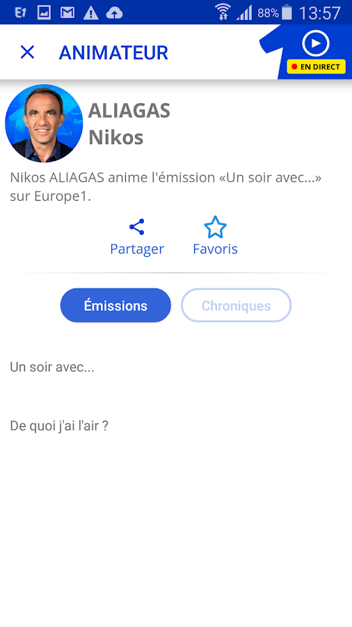 Europe 1- screenshot
