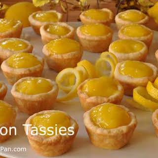 Lemon Tassies.