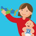 Kinedu: Baby Developmental Activities & Milestones icon