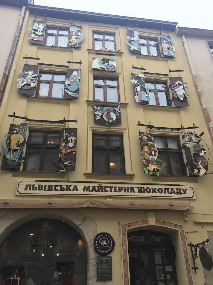 Lviv Çikolata Fabrikası