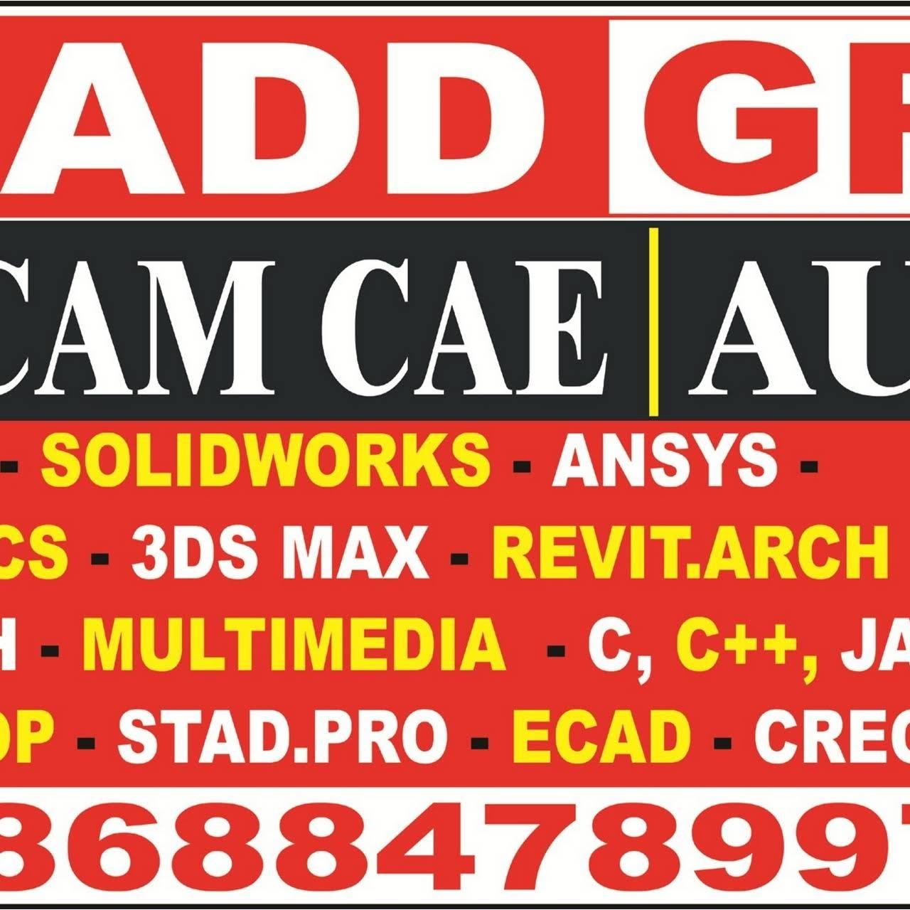 CADD GRAFIX AutoCAD 3DsMAX/CREO SOLIDWORK/ANSYS/CATIA