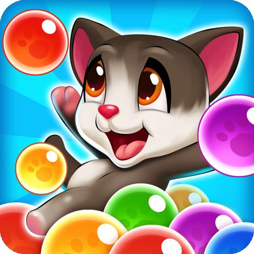 Bubble Cats Pop: Pet Shoot