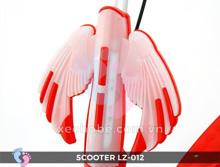Xe trượt Scooter đạp chân LZ-012 có đèn, nhạc 16