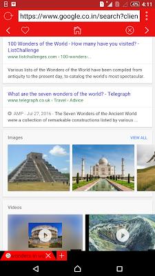 M Browser - Marshmallow - screenshot
