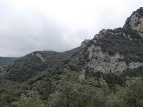 Photo: et on quitte à regret les berges du torrent sauvage pour les cingles altiers...........