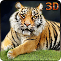 Enojada tigre salvaje aventura icon