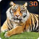 Angry Tiger Wild Adventure 3D Icon