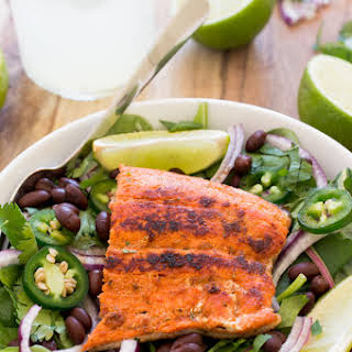 Mexican Salmon Salad.