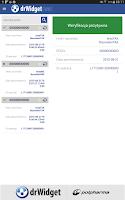 Screenshot of DrWidget eWUŚ