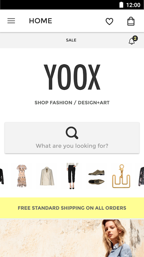 YOOX - Fashion, Design and Art- screenshot