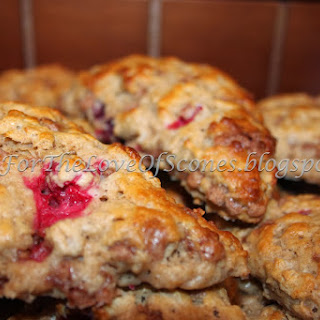 Cranberry Oatmeal Cinnamon Chip Scones