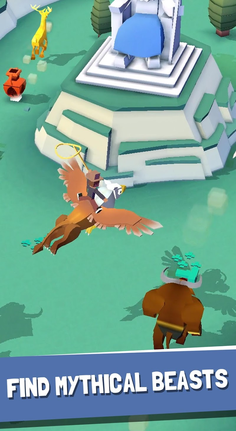 Rodeo Stampede:Sky Zoo Safari Screenshot 19
