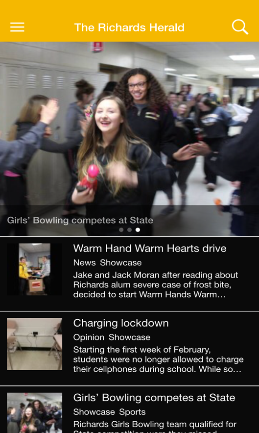 The Richards Herald- screenshot