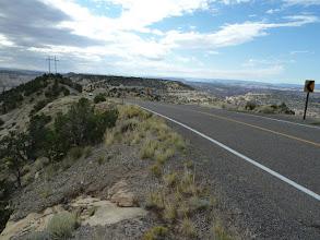 Photo: sur la crête, quelques km.
