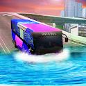 Tourist Bus Simulator River Bus Driving Game 2019 icon