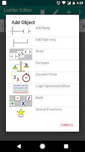 PLC Ladder Simulator - náhled