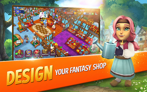 Shop Titans: Epic Idle Crafter, Build & Trade RPG filehippodl screenshot 2