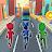 Subway Dash PJ Adventure 3D Icône