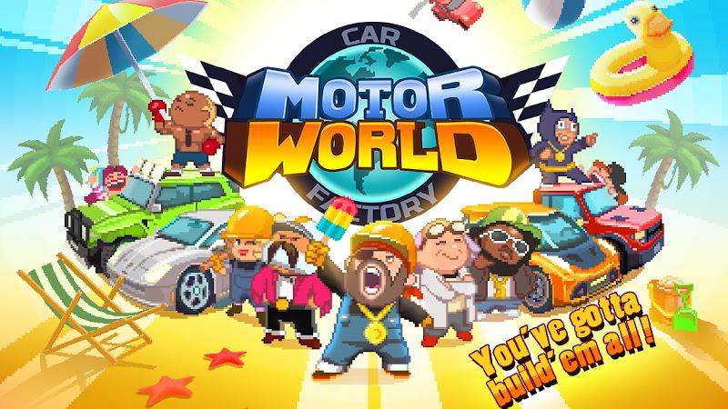 Motor World Car Factory v1.9002 (Mod)