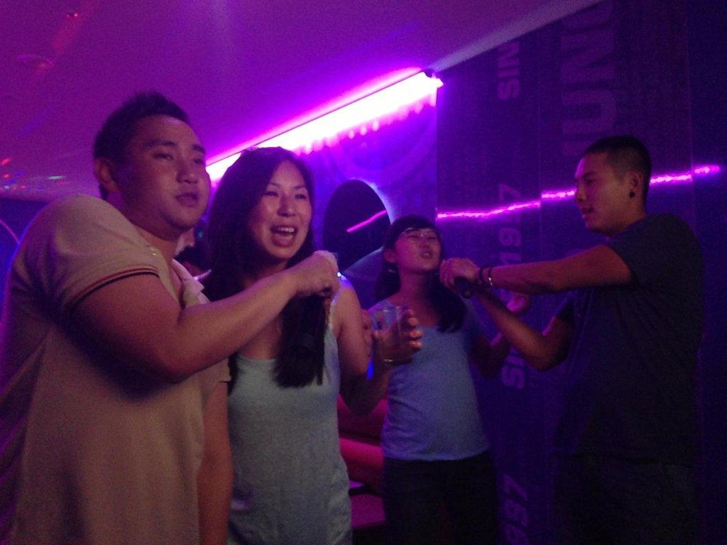 South Korea karaoke noraebang