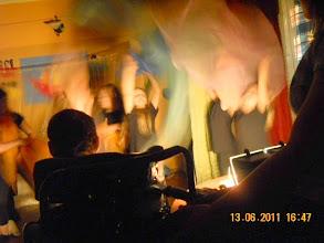 Photo: 13 VI 2011 roku -  w prawdziwym teatrze panuje ciemność