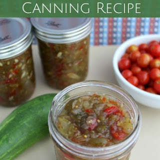 Sweet Pickle Relish Canning