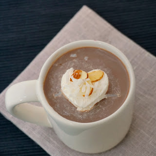 Almond Joy Hot Cocoa.