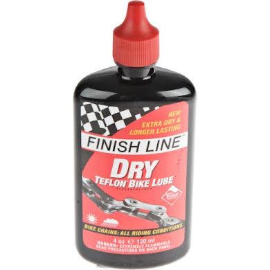 Finish Line Teflon-Plus Dry Chain Lube 4oz Drip Bottle