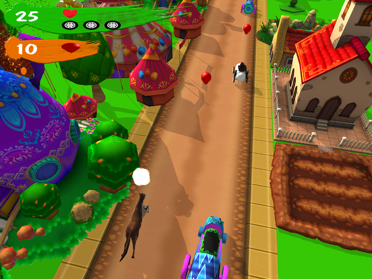 Ziggy Kids Racing - Zig Zag- screenshot