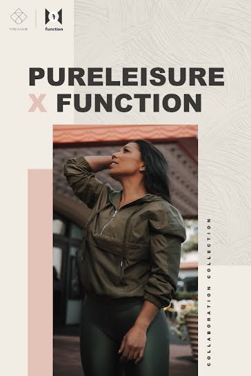 Pureleisure X Function - Pinterest Pin Template