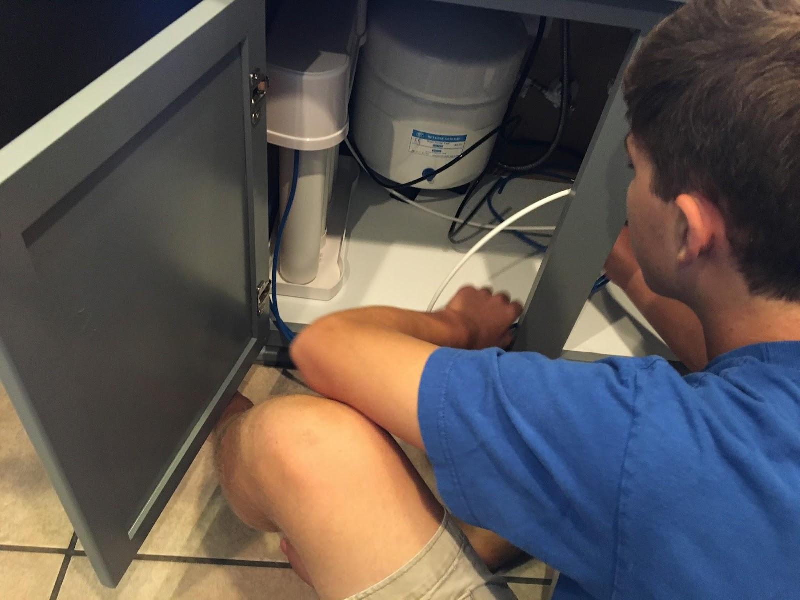 Reverse osmosis annual maintenance