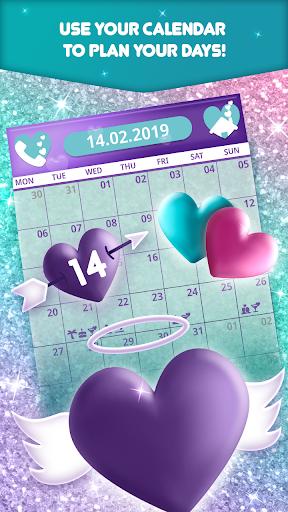 Glitter Heart - Cute Calendar Planner App App Report on