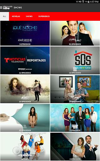 Telemundo Now Screenshot
