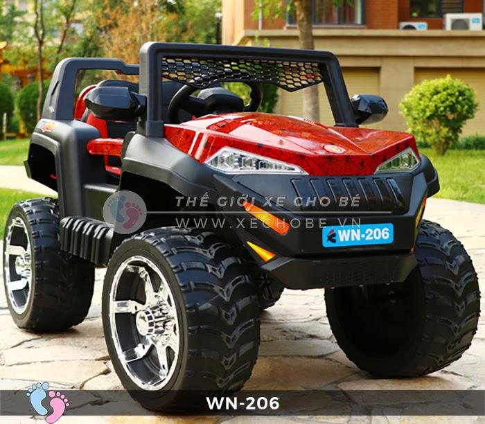 Xe hơi điện địa hình cho bé WN-206 3