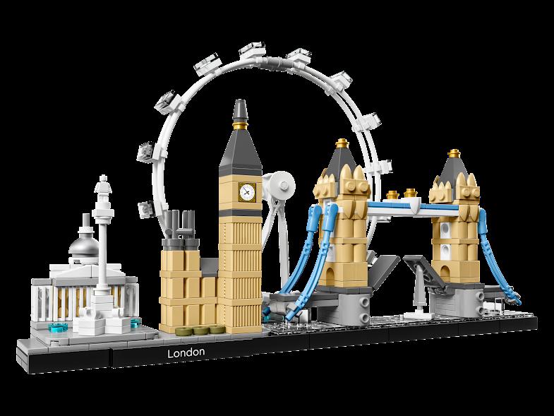 Contenido de Lego® 21034 Londres