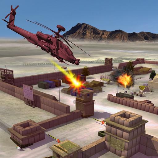 ヘリ 武装ヘリコプター ストライク 戦い 動作 App LOGO-硬是要APP