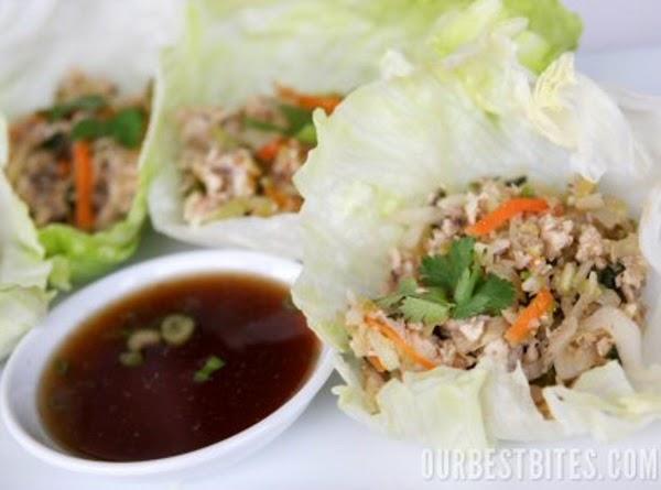 Asian Turkey Lettuce Wraps Recipe