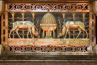 Photo: Details hoofd altaar.  Main altar details.